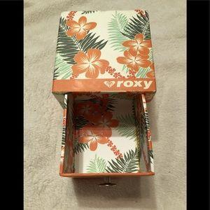 Vintage Roxy Everyday Jewelry Box